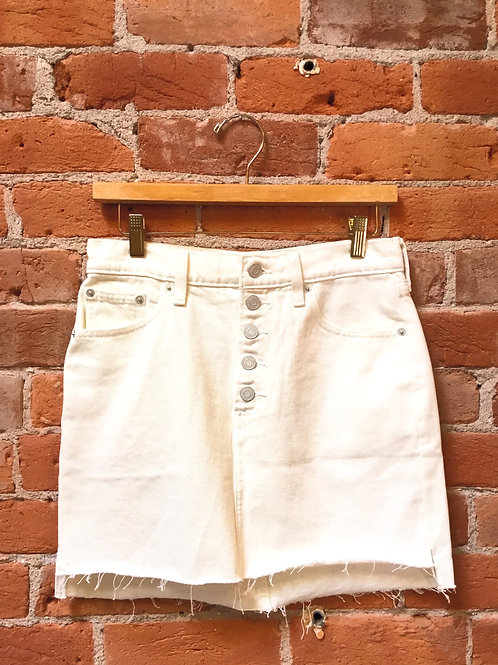 Lucky Brand Denim Button Front Skirt