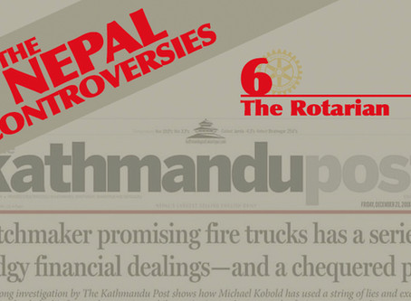 THE NEPAL CONTROVERSIES - Part 6