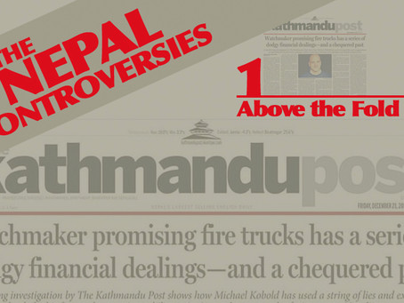 THE NEPAL CONTROVERSIES - Part I