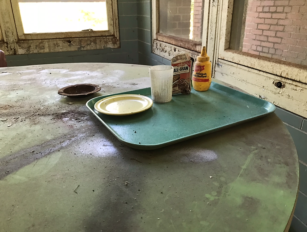 Abandoned Forest Haven Asylum Food
