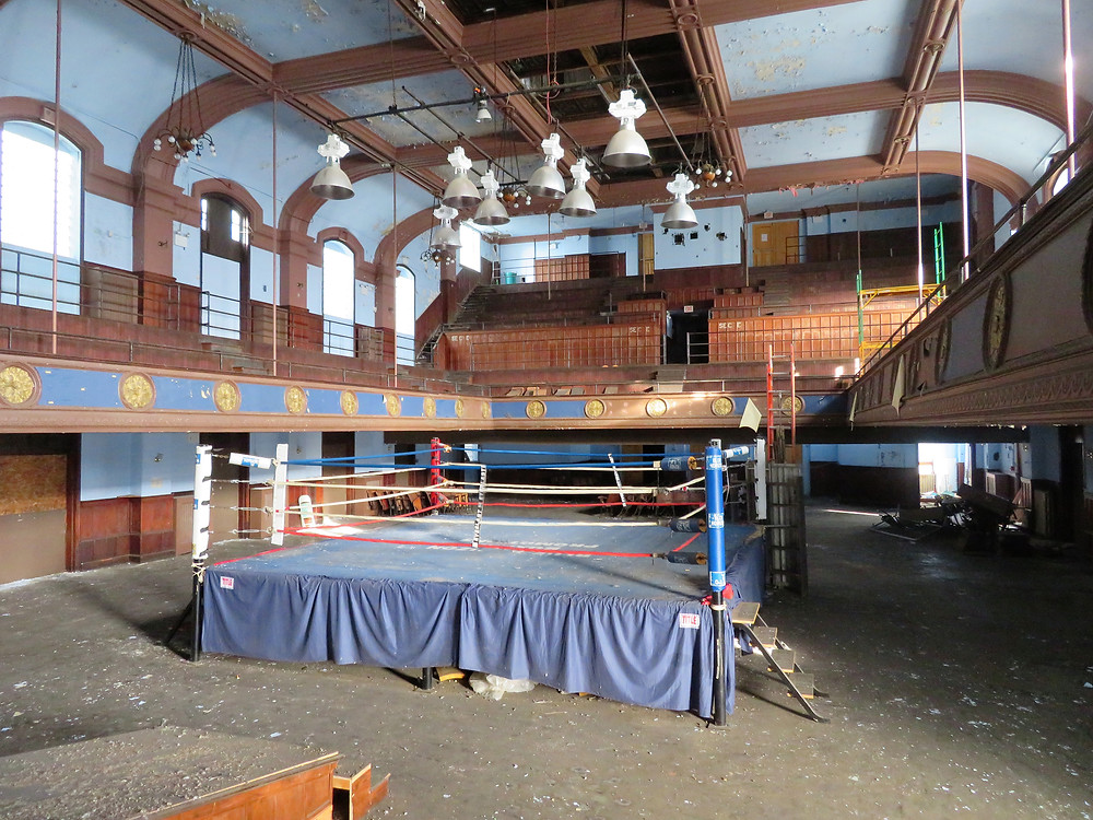 Abandoned Legendary Boxing Ring From Rocky