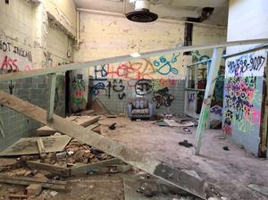 Abandoned Forest Haven Asylum Hospital Room