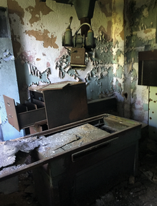 Abandoned Forest Haven Asylum Medical Equipment