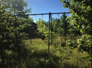 Abandoned Forest Haven Asylum Playground