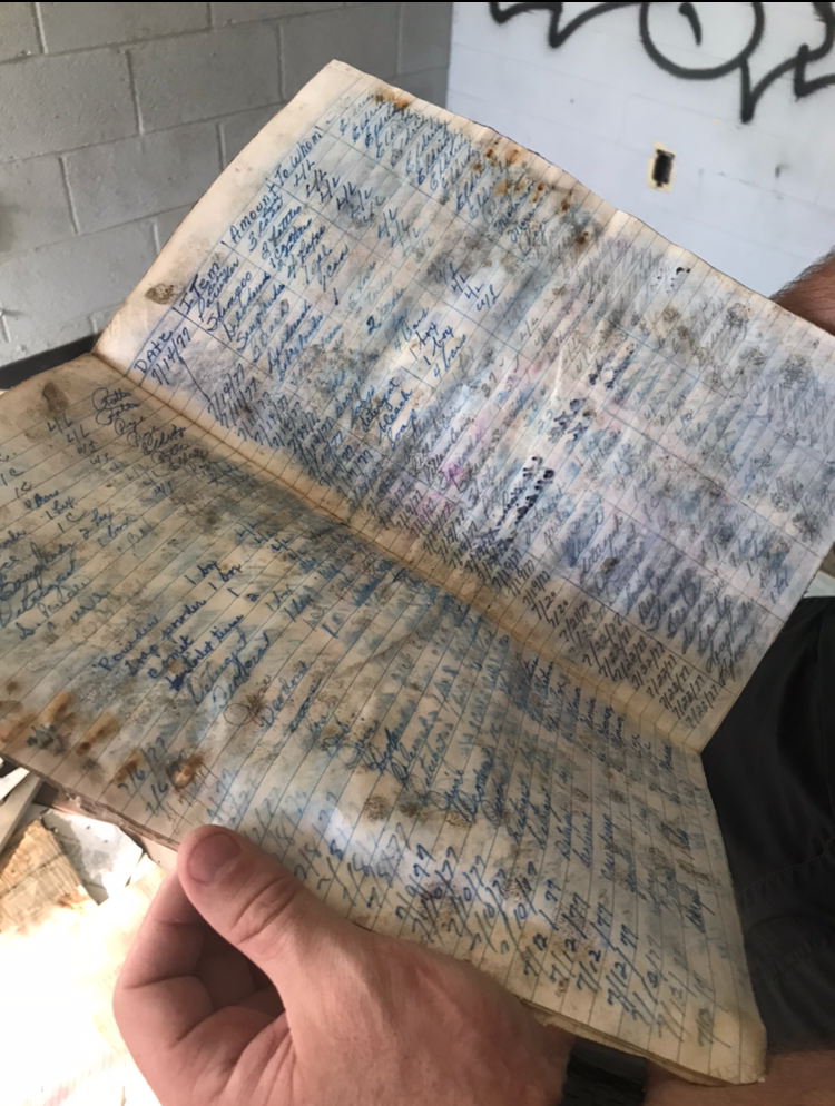 Abandoned Forest Haven Asylum Log Documents