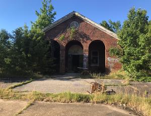 Abandoned Forest Haven Asylum Building