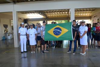 Visita da Marinha do Brasil
