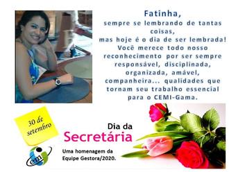 O Dia da Secretária