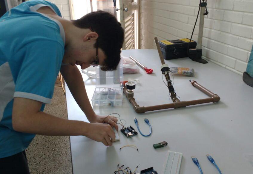 Construindo e testando seus foguetes