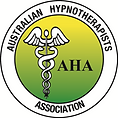 This is the Australian Hypnotherapists Association (AHA) Logo.