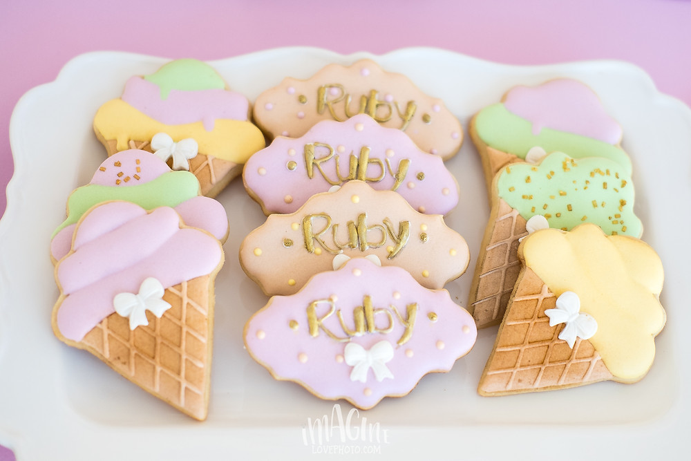 ice cream party ruby summer party imagine love photo subtil party styling um doce de doce