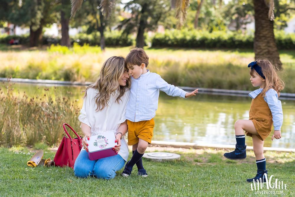 patricia menta dourada fotos dia da mãe filhos galenic portugal