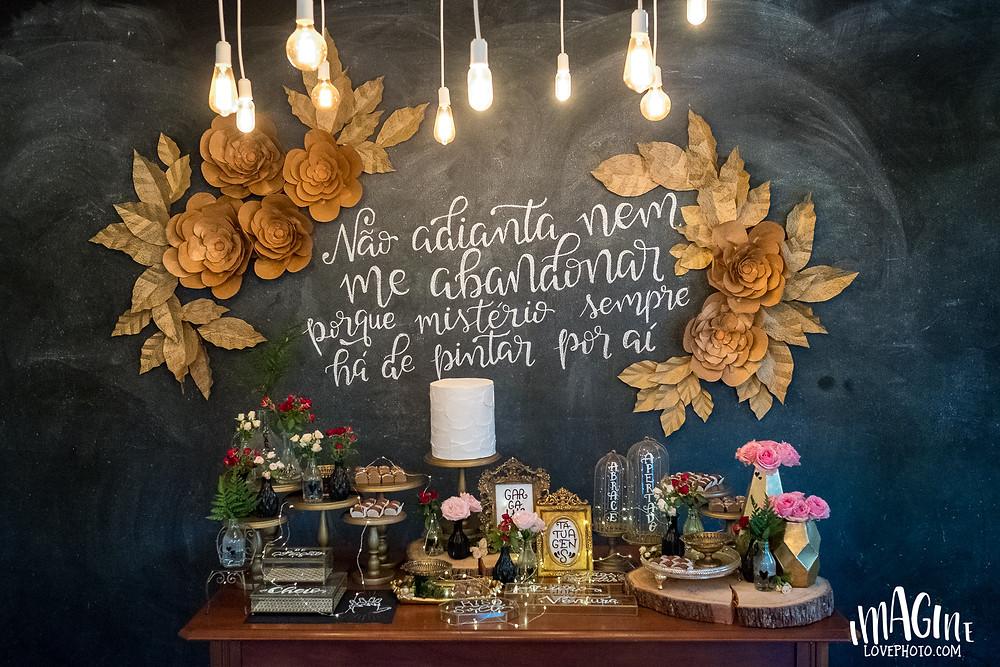 ju Françozo em Porto Alegre imagine sua festa chalkboard la morada