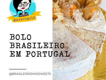 Bolo brasileiro em Portugal