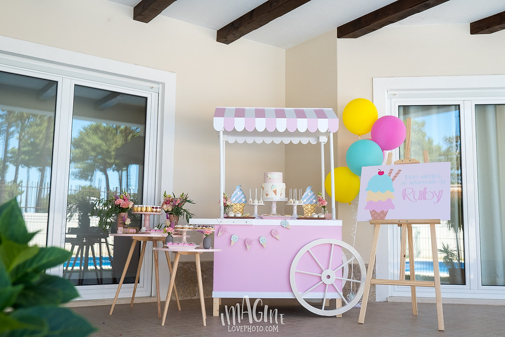 ice cream party ruby summer party imagine love photo subtil party styling