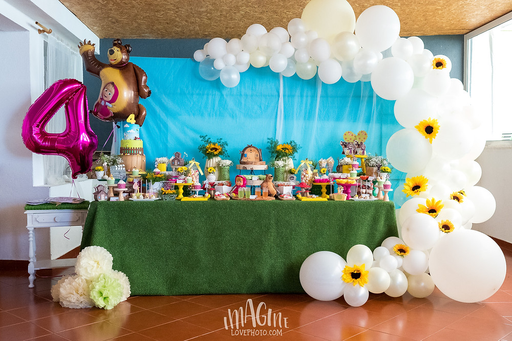 imagine love festa infantil portugal festa de anos masha e o urso