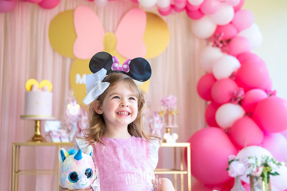 imagine love festa infantil portugal Kiki Minnie menta dourada