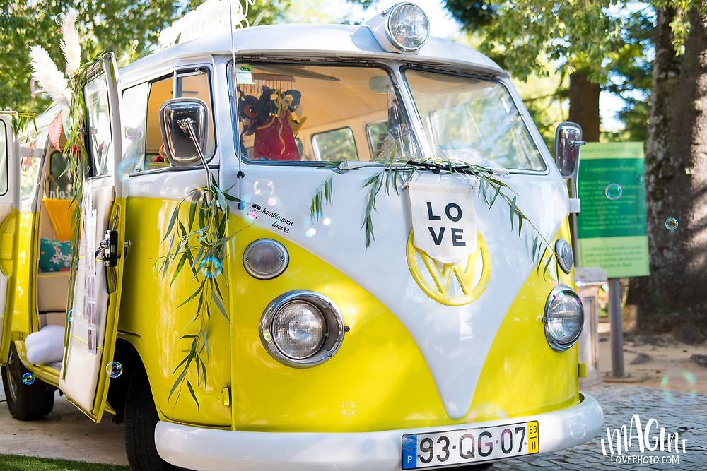 imagine love photo na carrinha pão de forma mini sessão natal Photo Booth kombi festeJá