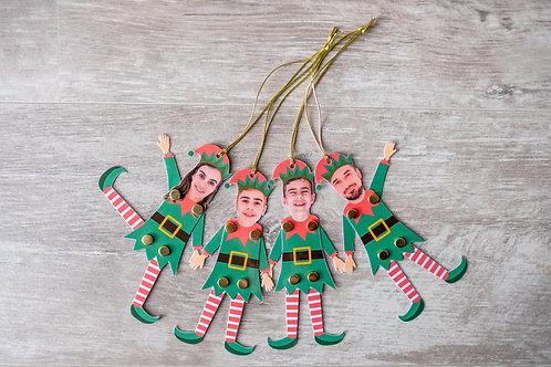 Família Elfo (pack com 4 unidades)