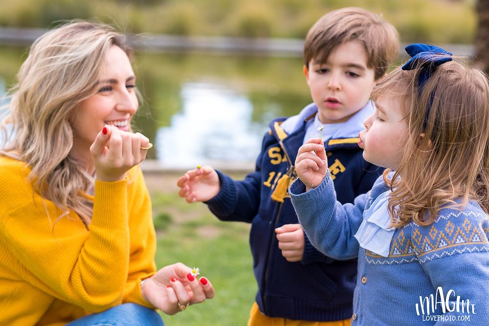 patricia menta dourada fotos dia da mãe