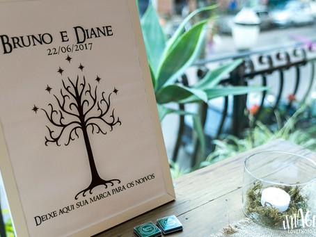 Mini Wedding | Lord of the Rings | Diane e Bruno