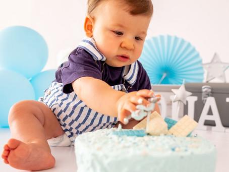 Uma sessão para esmagar o bolo, é isso mesmo!