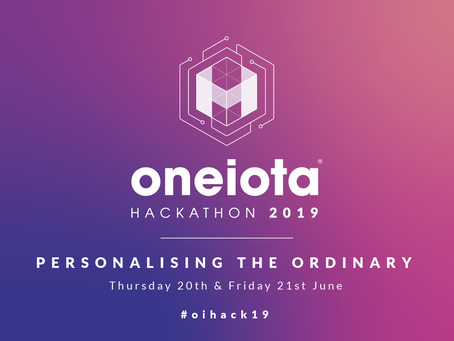 We'll be 'Personalising the Ordinary' at this year's Hackathon!