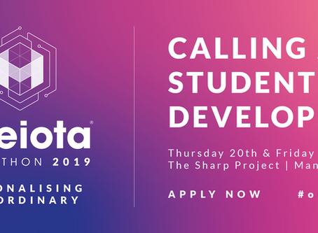 Student Developers, apply now for One iota's biggest Hackathon to date!