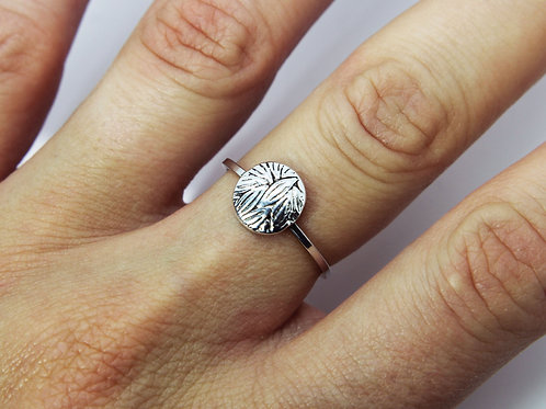Forest ring - Sterling silver ring - Tree ring