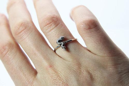 Snake ring - Sterling silver ring - Serpent ring - Australia