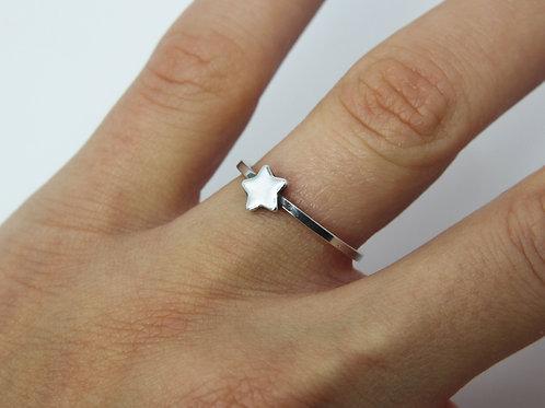 Star ring - Sterling silver ring - Minimalist ring