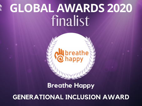 Breathe Happy named finalist for the WomenTech Global Awards 2020