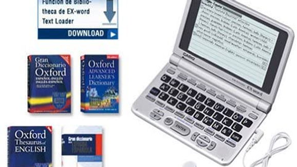 Casio Ex-Word English/Spanish Dictionary