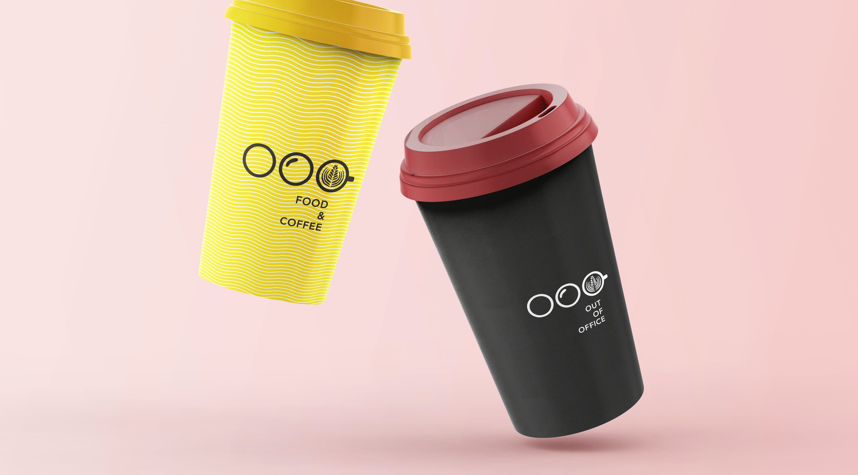 out of office coffee cup