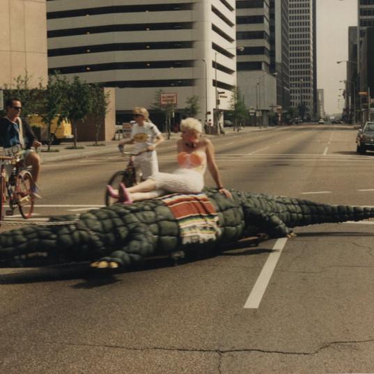 Jackie Harris on the Gator.jpg