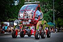 2015 Houston Art Car Parade - EarthRover