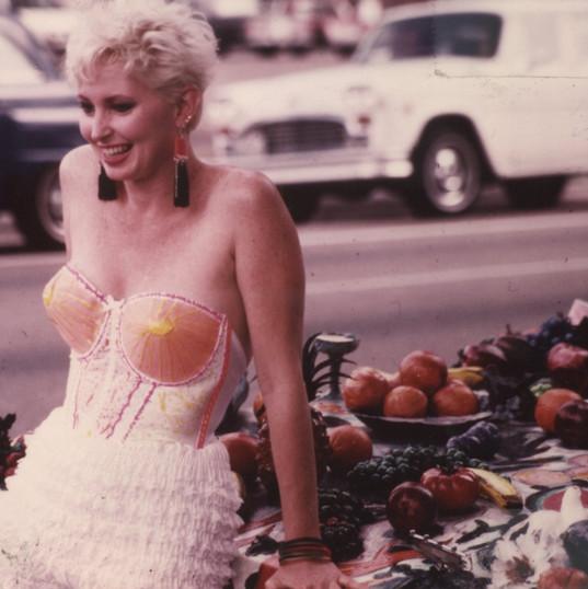 Jackie Harris on the Fruitmobile.jpg