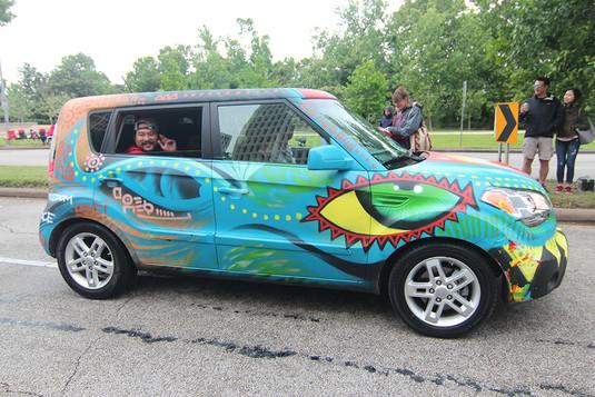 Third Place Art Car