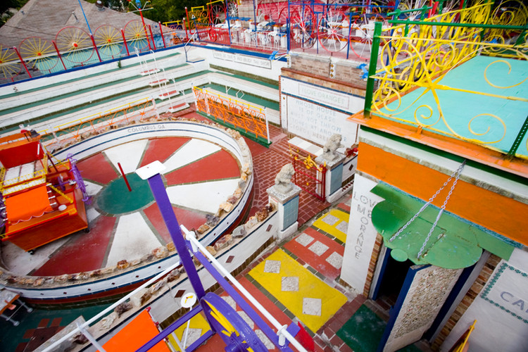 Orange Show Monument 3 - photo by David