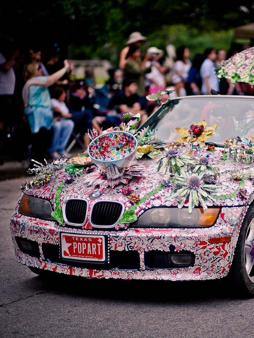 Pop Art Car by Cherie Smith - 2015 - Pho