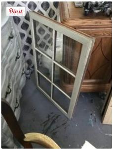 Vintage Window Repurpose