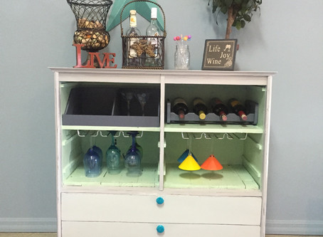 Curious Wine Bars From Curbside Finds!
