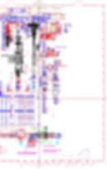 Logistikkonsult - Sim Logistics - CAD ritning som får exemplifiera indata till flödessimulering.