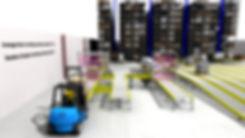 Logistikkonsult - Sim Logistics - Visualisering, animering och simulering av bansystem och kranlager.