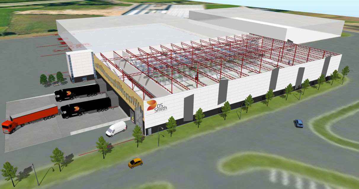 DS Smith Packaging-Warehouse layout