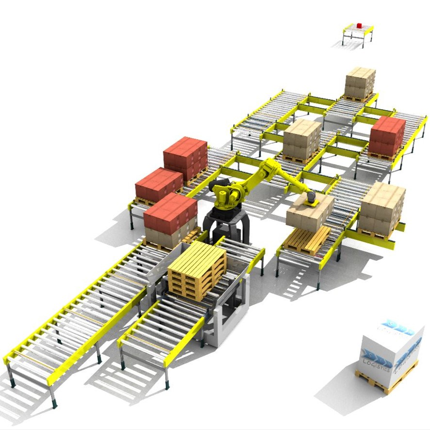 Sim Logistics - Automated Material Handling Equipment