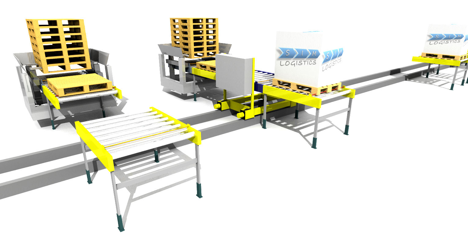 Sim Logistics - Transfer Vehicle And Pallet Stackers 2