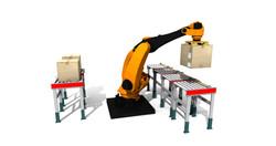 Sim Logistics - Realistic Robot Movements