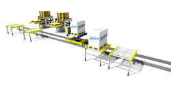 Sim Logistics - Transfer Vehicle And Pallet Stackers