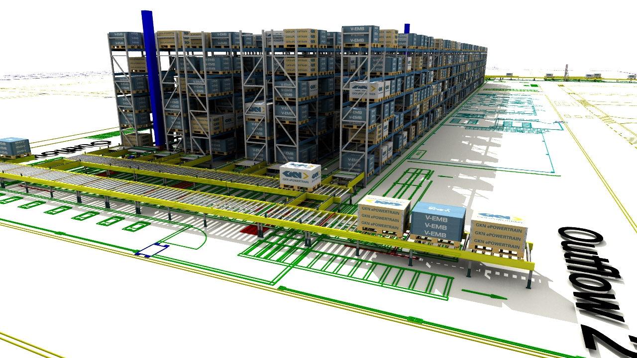 Sim Logistics - GKN ePowertrain